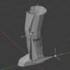 Blender2.92:グローバル座標とローカル座標ー軸・原点ー②