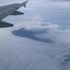昨日の富士山と雷雨