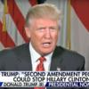 ドナルド・トランプ:「銃を所持する人々がヒラリー・クリントンを止められる」