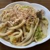 簡単調理☆白だしを使った焼きうどん【レシピ】