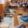 5年生:図工 一般多色刷り 「彫り」から「刷り」へ