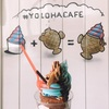 YOLOHA CAFE (Waipahu) : ハワイで食べるアイスクリームたい焼き