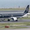 飛行機といえば、黒いカッコいい「スターフライヤー」が一番です!