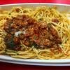 DEAN & DELUCAの「粗挽きソーセージのボロネーズスパゲッティ」