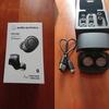 audio-technicaのノイズキャンセリングイヤホンを買った