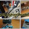 Change a front derailleur