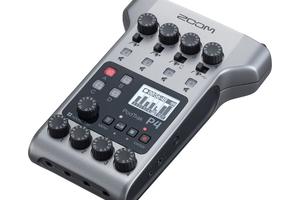 ZOOM、Podcast収録に最適化したMTRのPodTrak P4を発売