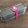 シンプルな弁当箱を子供仕様に。キャラものを買わなかった話。