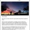 Ironman Hawaii 2021の手配はGW明けまで待つ