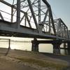 赤川鉄橋をチェキ