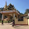 大きな仏像のある「ンガータジー・パゴダ」 @ Yangon