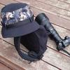 森林付近を散歩する際は帽子をかぶった方が良い件