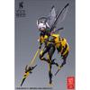 【WASP GIRL】モグモ イラスト『BEE-03W WASP GIRL ブンちゃん』1/12 可動フィギュア【蝸之殼スタジオ】より2021年6月発売予定♪