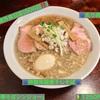 🚩外食日記(506)    宮崎ランチ   🆕「中華そばシンジョー」より、【特製背脂煮干しそば】【炙り肉めし】‼️