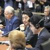 TPP手続き推進で一致…首脳会合、首相も訴え