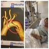 実は生死の境を彷徨って入院しておりました・・・