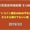 【取引所トークン バイナンスが順調】2019/3/2 仮想通貨時価総額14兆6000億