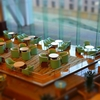 ミニチュア風写真『東京ドームホテル』