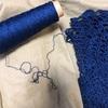 パイナップル模様の円形ショール、編み始め