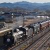帰って来たC58-363 秩父鉄道で試運転を撮影