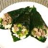 韓国キムパの手巻き 牛肉小松菜でボリュームもあり!
