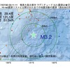 2017年07月30日 03時11分 奄美大島北東沖でM3.2の地震