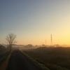 ジョギング23.51km・朝もやの早朝ラン