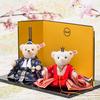 マンションでも置けるひな人形を探せ!個性的で可愛くオシャレなテディベアひな人形&ガラスひな人形