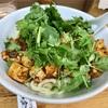 中区長者町の「華隆餐館」で麻婆豆腐刀削麺(汁なし)&パクチー
