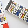 【お洒落文房具】クロニクルブックス モンドリアンの色鉛筆