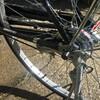 【ママチャリ】自転車の後輪ブレーキ異音の修理