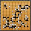 【囲碁】私の実戦から:なんでかけついだんだろう?
