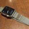 【Apple Watch】激安バンド・ミラネーゼループに替えてみた