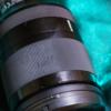 カメラレンズの白化したゴムをミューズで拭いたらめっちゃ綺麗になった!