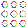 【配色】色相環のH値をいろいろ測ってみた(HSB、マンセル、オストワルト、PCCS、イッテン、NCS、Web配色ツール)