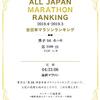 マラソンランキング【2018】