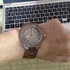 木製の腕時計との新たな人生のスタート