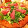 【洋】フレッシュサラダのパン生地ピザ