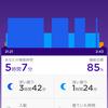 Jawbone UPの睡眠管理機能は素晴らしい!と再認識した夜明け前