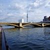 蔵前橋、隅田川に架かる黄金色の稲穂だね