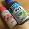 盆栽の消毒、1月はダニ太郎