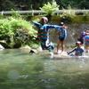 夏の1DAYキャンプ~源流の川でおもいっきり川あそび!(2日目)【活動レポート】
