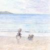 封筒「浜辺の歌」