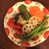野菜の焼きびたし