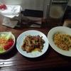 今日の晩御飯は焼肉定食でした。