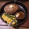 神田で肉汁がすごいハンバーグランチでした。