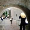 噴水トンネル