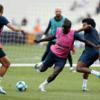 サッカーのミニゲームに基づくピリオダイゼーション(ランニングインターバルトレーニングの効果が類似しており、統計的有意差は認められなかったことを報告している)