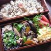 Vol.302-夏野菜と豚肉の炒め弁当(\380.-)