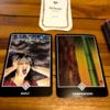今週をあらわすカードは「罪悪感」アドバイスカードは「比較」アロハウハネカードは「ハート」でした
